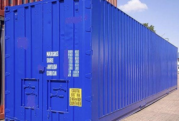 40英呎海運貨櫃