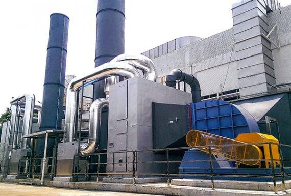 RTO廢氣處理系統